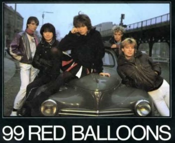 99 Red Balloons English Version